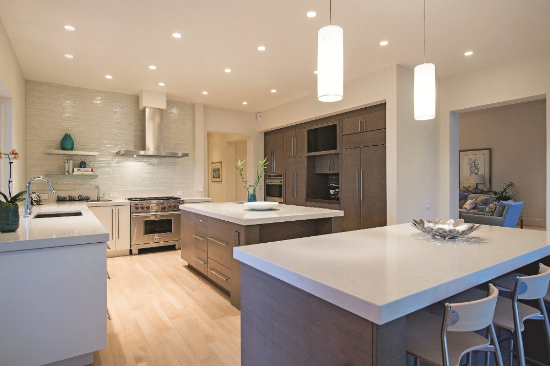 Contemporary Kitchen Stone Project