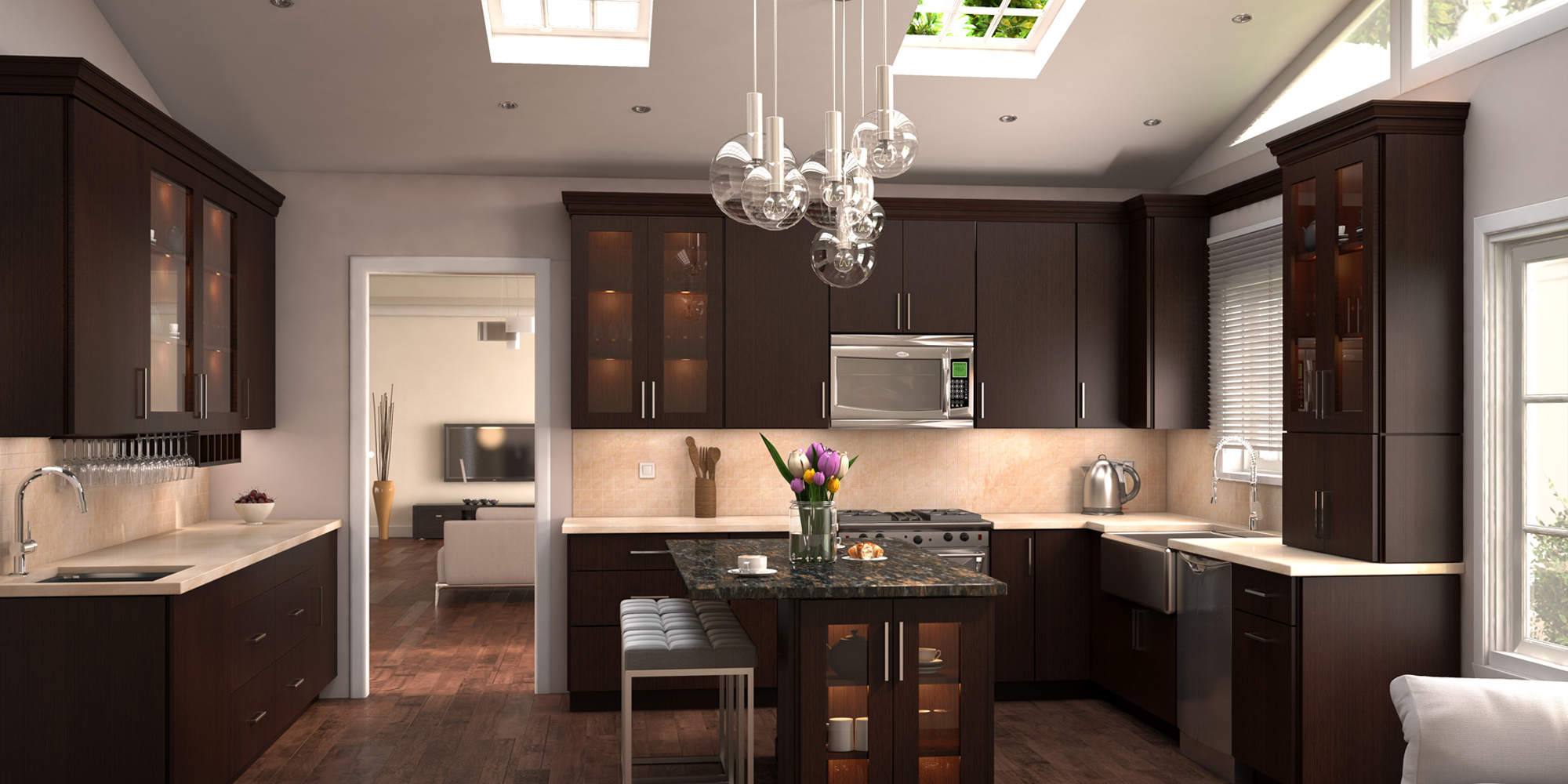 Contemporary Kitchen Remodeling Brooklyn