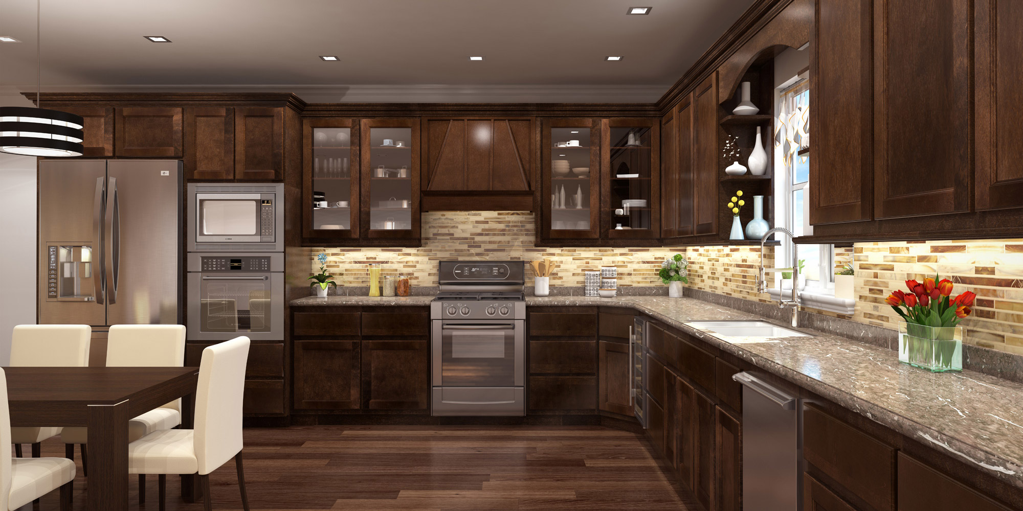 Popular cabinet door styles brooklyn dna kitchens for Kitchen cabinets 65th street brooklyn