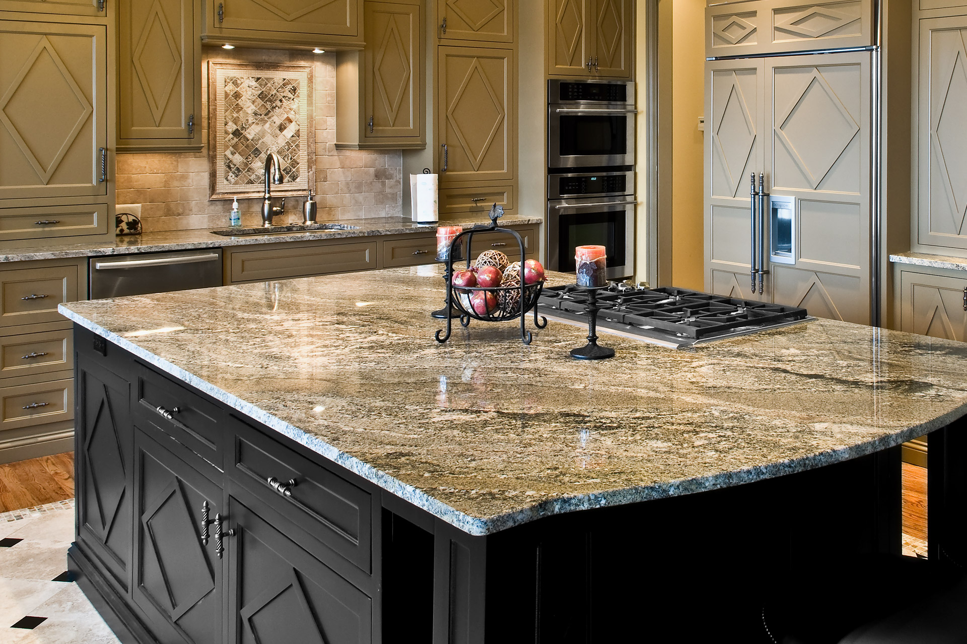 High Quality Kitchen Stone Work