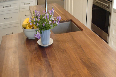 Kitchen Wood Countertop