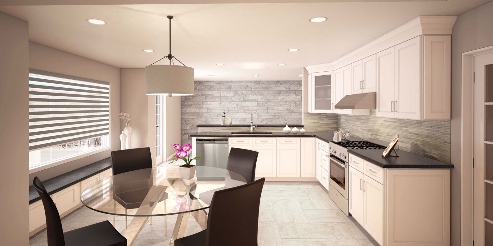 DNA Kitchen Showroom Brooklyn | Kitchen Remodeling & Renovations